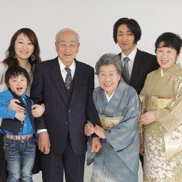 還暦 家族写真