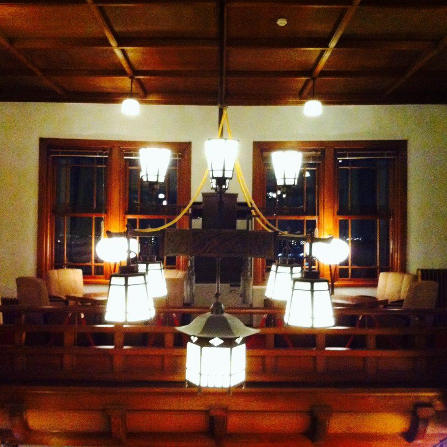 奈良ホテル内