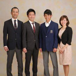 入学卒業記念フォト 家族写真