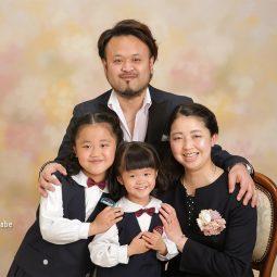 入園卒園記念フォト 家族写真