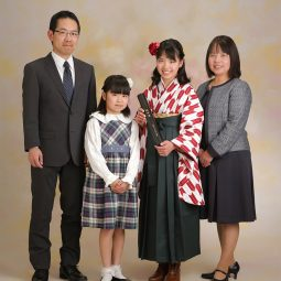 卒業袴フォト 家族写真撮影