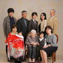 お宮参り記念フォト 家族写真撮影