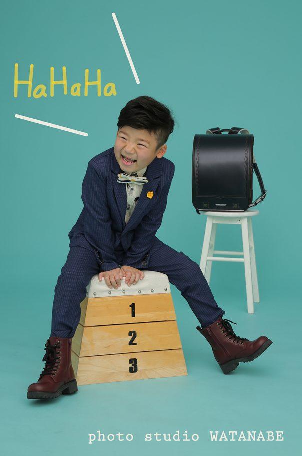 ブーツの似合うおしゃれさん~入学撮影~